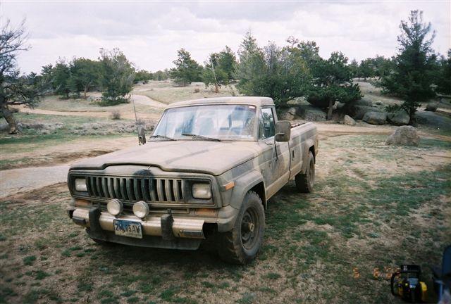 1985 jeep pickup truck